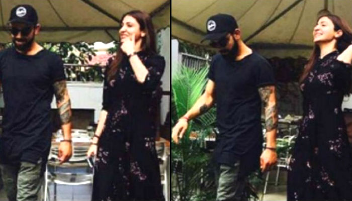 Lovebirds Virat-Anushka head out for a lunch date in Bengaluru
