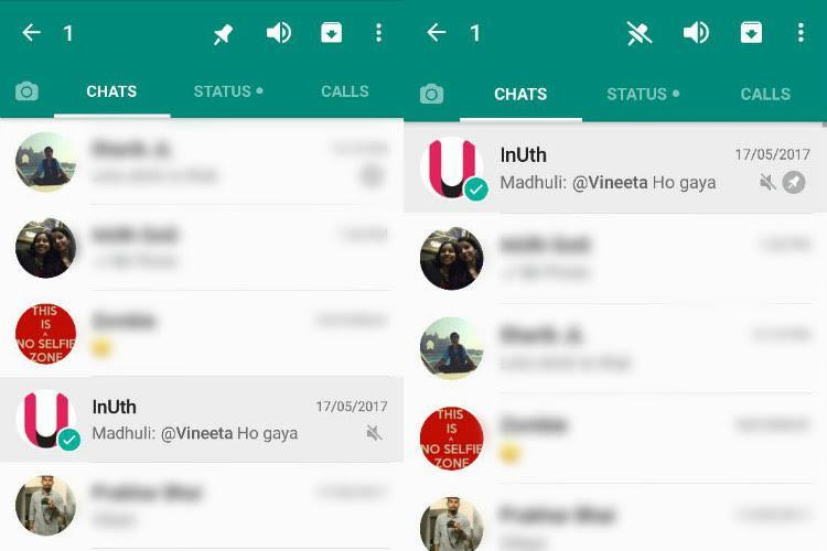 WhatsApp Brings Pinned Chats To Android