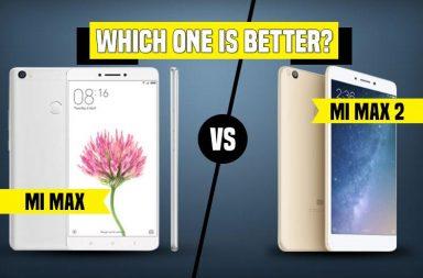Xiaomi Mi Max 2 vs Mi Max