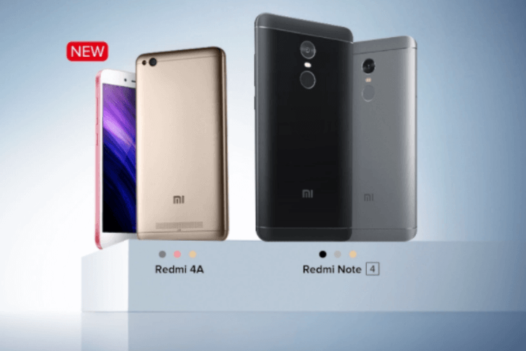 Xiaomi redmi note 4 redmi 4a available for pre order on for Housse xiaomi redmi note 4