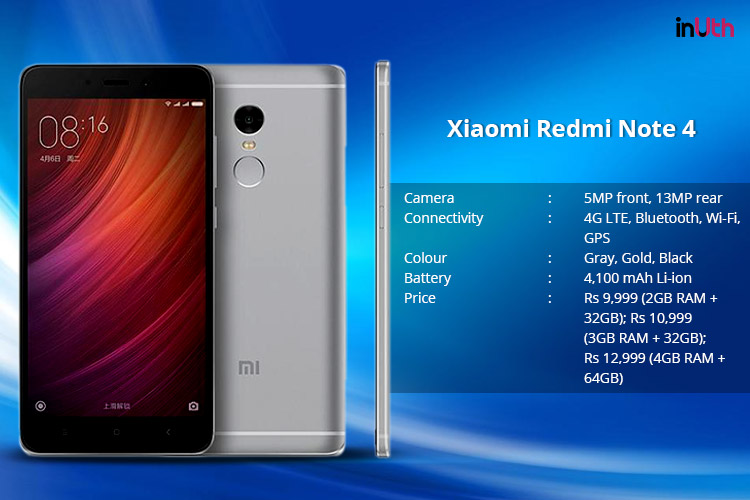 Xiaomi Redmi Note 4 To Go On Sale Today