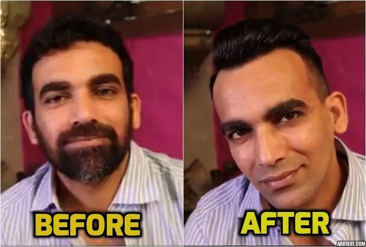 Zaheer Khan Break the beard, Zaheer Khan's new look, IPL 2017