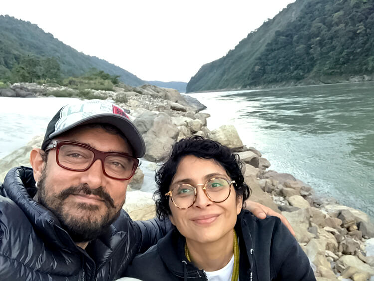 Aamir Khan's personal moments with wife Kiran Rao