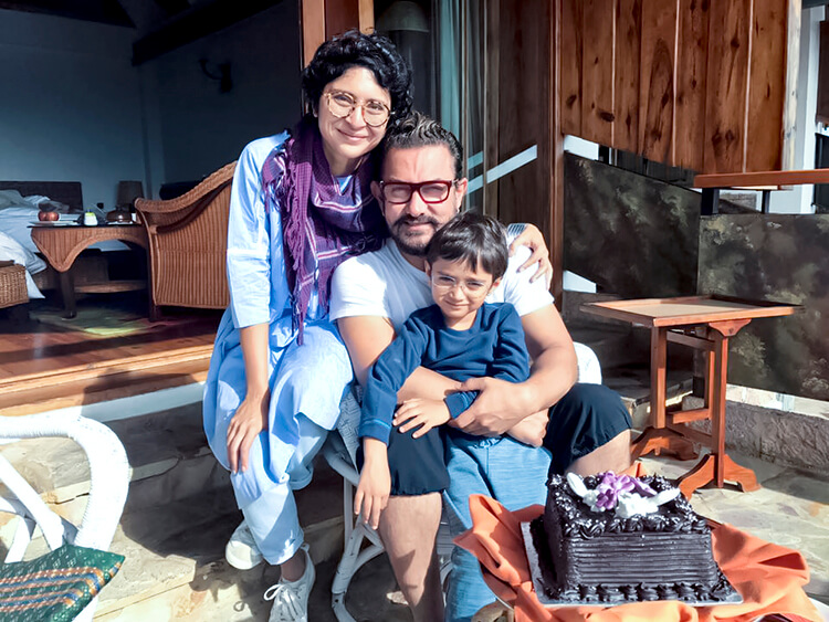 Aamir Khan spent some personal time with family in Meghalaya