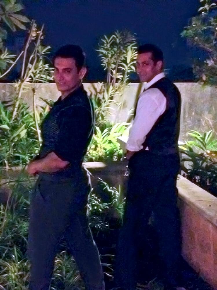 Aamir Khan and Salman Khan's not so personal moment
