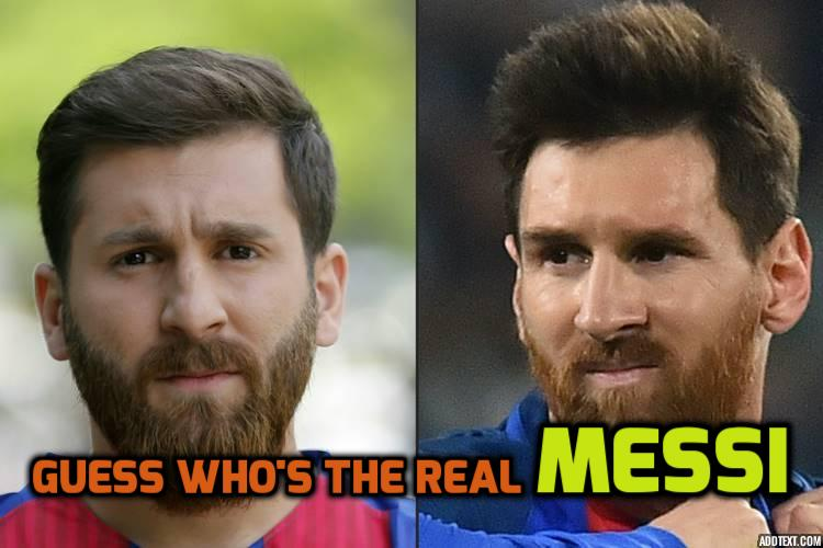 Student has auto  impounded because he looks like Lionel Messi