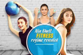 Alia Bhatt, Fitness