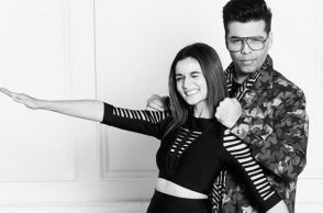 Alia Bhatt and Karan Johar, Karan Johar birthday wish