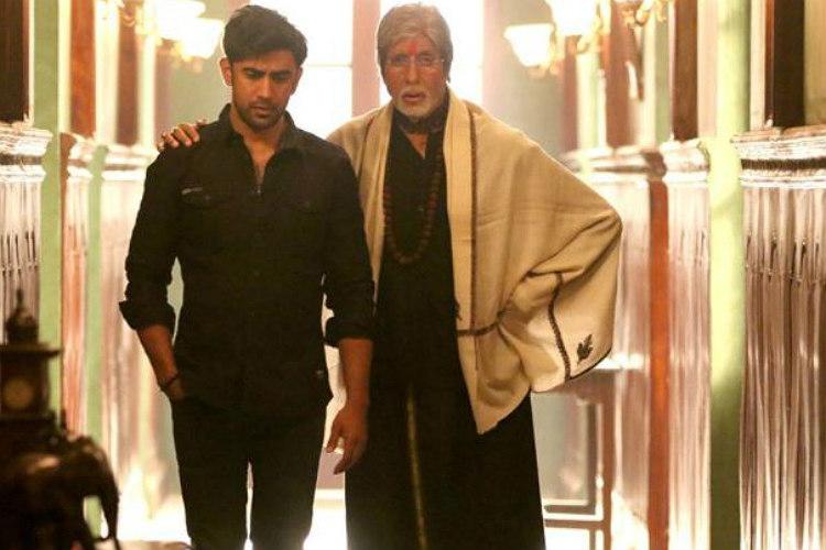 Amit Sadh and Amitabh Bachchan in Sarkar 3