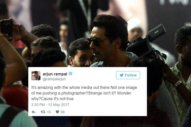 Did Arjun Rampal really assault a photographer at Justin Bieber concert? The actor clarifies