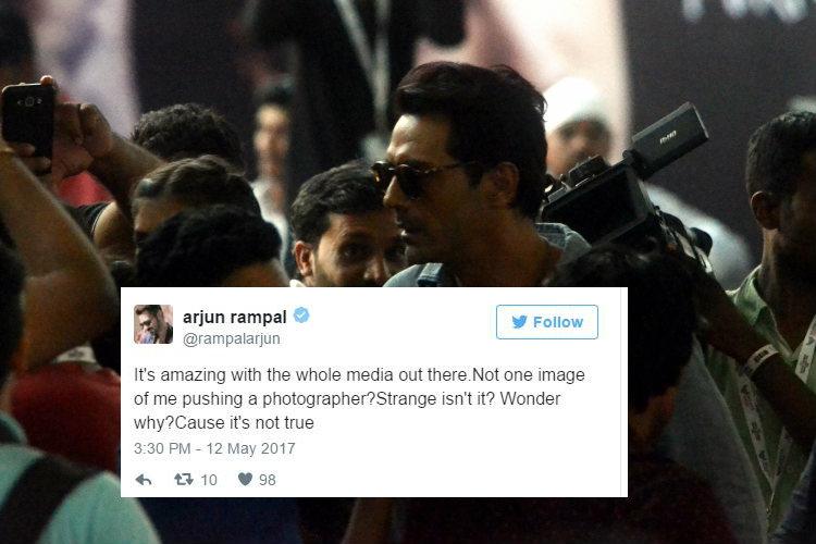 Did Arjun Rampal really assault a photographer at Justin Bieber concert? The actorclarifies