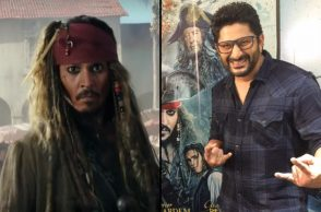 Arhsad Warsi, Arshwad Warsi and Johnny Depp