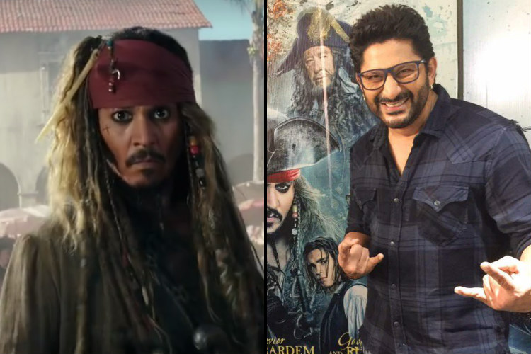 Arshad Warsi's dubbing for Johnny Depp in Hindi version of Pirates of Caribbean fits the bill perfectly [Watch video]