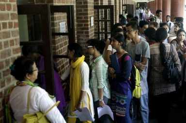 Delhi university admission 2017, du cut-off list