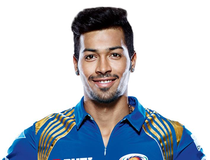 Cricketer Hardik Pandya. Express archive photo