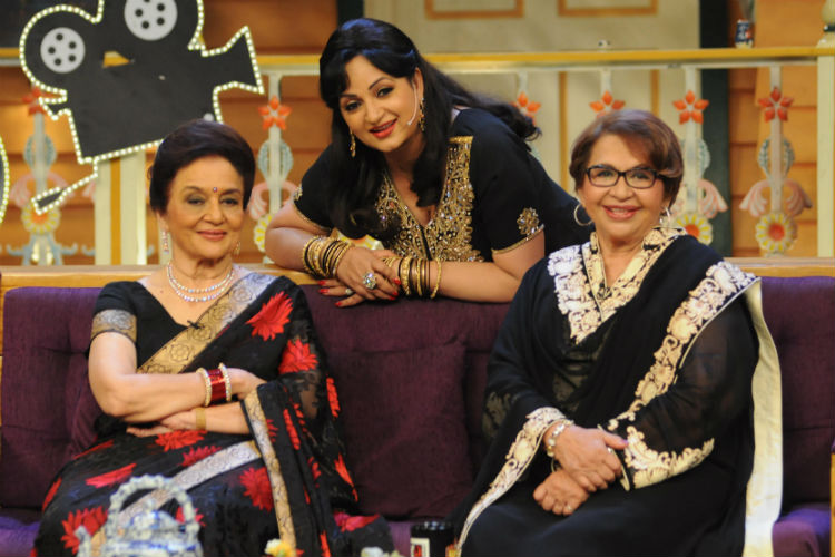 Photos: Asha Parekh and Helen make debut on The Kapil Sharma Show