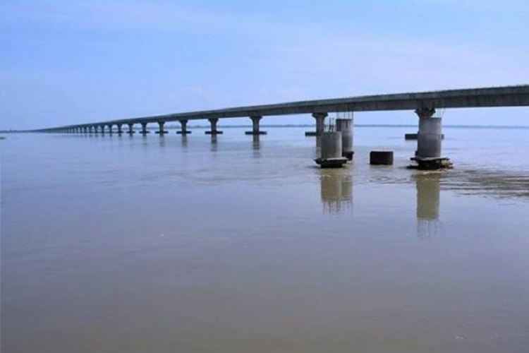 India's longest bridge brings Assam closer to Arunachal Pradesh