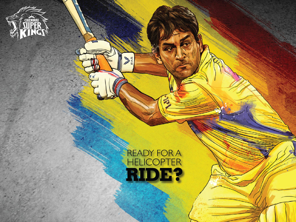 MS Dhoni as CSK Captain