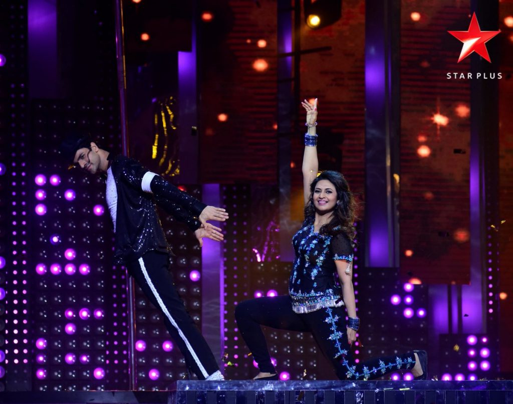 Divyanka and Vivek(Courtesy/twitter@StarPlus)