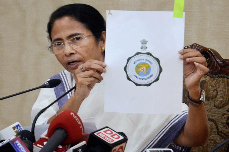 Mamata Banerjee launches West Bengal state logo