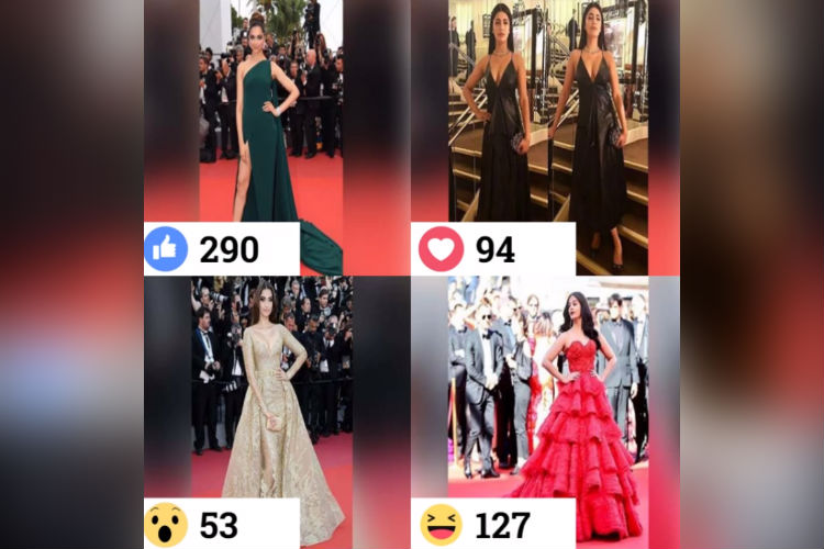Cannes 2017 Facebook poll results