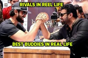 Rana Daggubati and Prabhas are great friends in real life. (Courtesy: Instagram/Prabhas_Raju official)