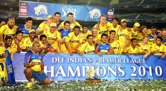 CSK winning 2010 IPL