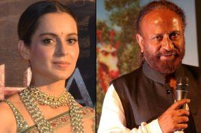 Kangana Ranaut and Ketan Mehta (Courtesy: IANS)