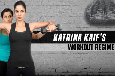 Katrina Kaif workout regime