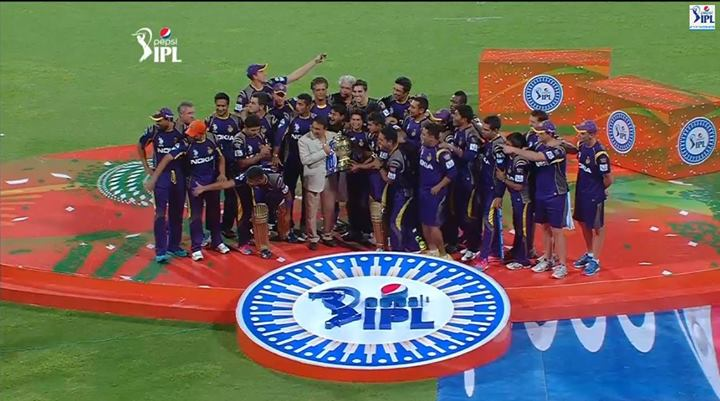 KKR becomes champions in IPL 2014