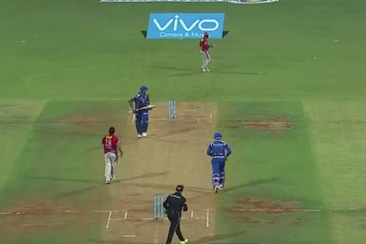 MI vs KXIP, IPL 2017 Match 51, last over