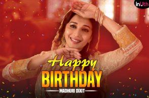 Madhuri Dixit, Madhuri Dixit birthday