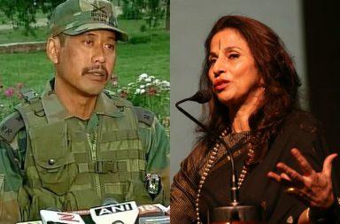 Shobhaa De Major Gogoi