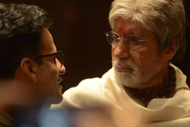 Manoj Bajpayee and Amitabh Bachchan in Sarkar 3