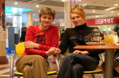 Meg and Elana