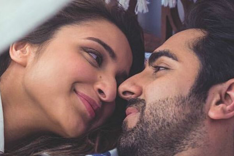 Ayushmann Khurrana and Parineeti Chopra in Meri Pyaari Bindu