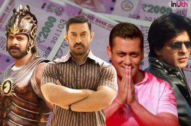 Aamir Khan, Shah Rukh Khan, Salman Khan, Dangal, Baahubali 2