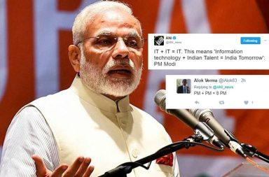 Narendra Modi, PM Modi, Modi IT +IT=IT
