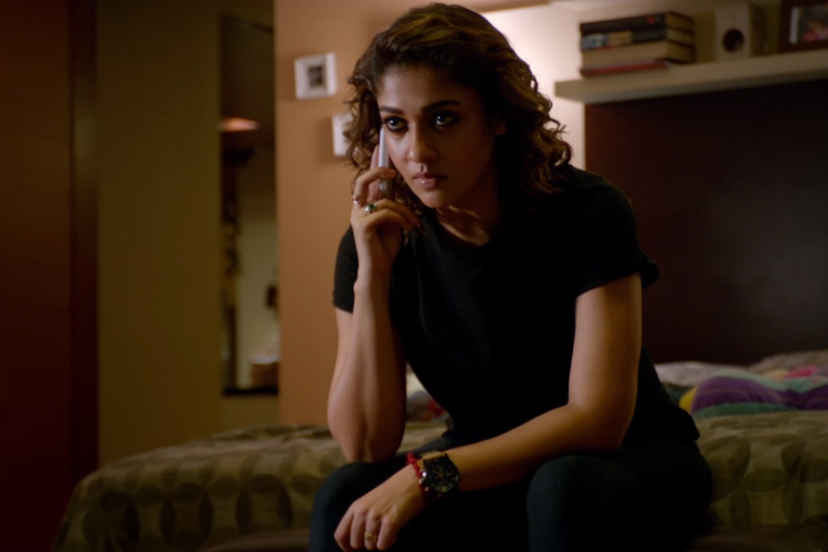 Nayanthara in Imaikkaa Nodigal (Courtesy: YouTube/Cameo Films India)