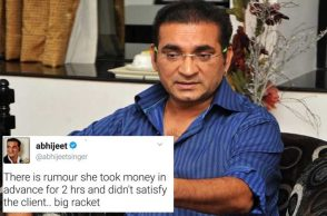 singer abhijeet twitter controversy