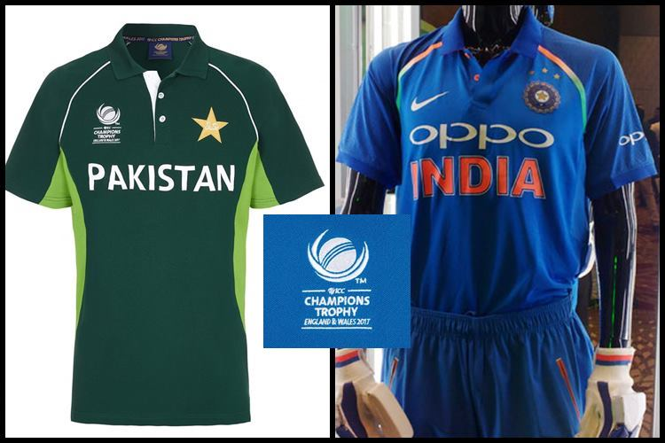 Indian Pakistan jersey for Champions trophy