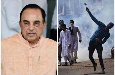 India must unearth Pakistan's connection with Kashmir revolt, says Subramanian Swamy
