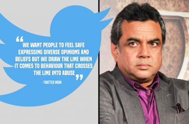 Twitter India finally breaks its silence on Paresh Rawal-Arundhati Roy matter