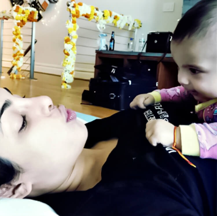 Check out this adorable pic from Priyanka Chopra's personal gallery
