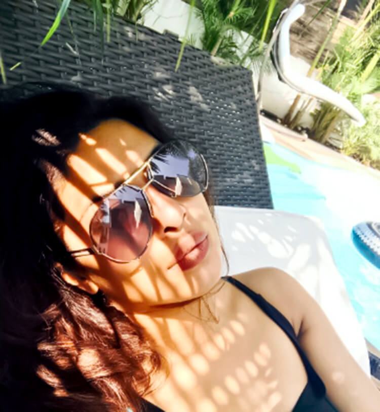 Priyanka Chopra's welcomes new year on her personal Instagram handle