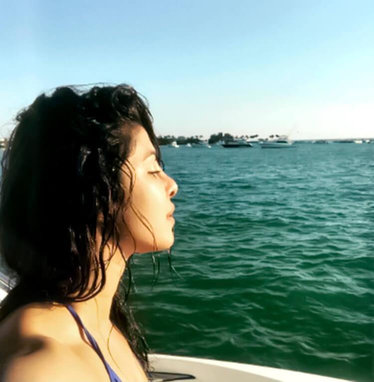 Priyanka Chopra is sharing the glimpses of her mermaid life on her personal Instagram handle