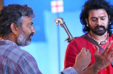SS Rajamouli and Prabhas (Courtesy: Twitter/@ActorPrabha)