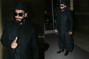 Ranveer Singh At Airport By Varinder Chawla