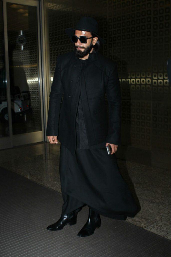Ranveer Singh, Airport look