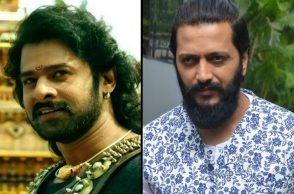 Baahubali and Riteish Deshmukh
